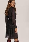 Czarna Sukienka Qhesieth