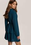 Niebieska Sukienka Elinthine
