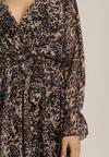 Beżowa Sukienka Irinerris