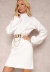 Biała Sukienka Thelaya