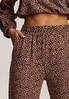Ciemnobeżowe Spodnie Narisea