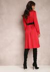 Czerwona Sukienka Catvielle