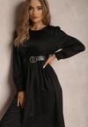 Czarna Sukienka Catvielle