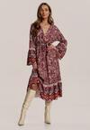 Czerwona Sukienka Qhesarah