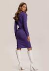 Fioletowa Sukienka Wysnara