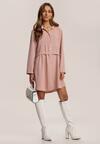 Różowa Sukienka Elrinaris