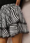 Biało-Czarna Spódnica Rhelora