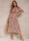 Różowa Sukienka Phislyn