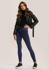 Niebieskie Spodnie Skinny Catlisa