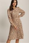 Beżowa Sukienka Phisielle