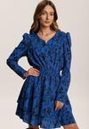 Niebieska Sukienka Krynesh