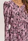 Różowa Sukienka Krynesh