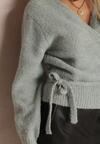 Miętowy Sweter Xenanya