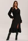 Czarna Sukienka Acalephine