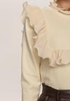Beżowy Sweter Mossbrooke
