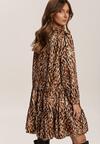 Brązowa Sukienka Simpleswift