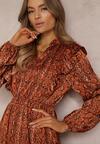 Camelowa Sukienka Regalwoods