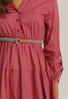 Różowa Sukienka Singleoak