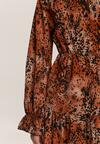 Camelowa Sukienka Tanglefreeze