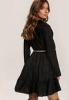 Czarna Sukienka Clanglow