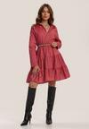 Ciemnoróżowa Sukienka Clanglow
