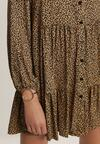 Camelowa Sukienka Richbreath