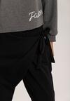 Granatowe Spodnie Adsys