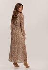 Beżowa Sukienka Fistcrag