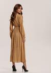 Beżowa Sukienka Nightvine