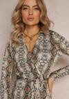Jasnobeżowa Sukienka Brightfreeze