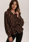 Czarno-Beżowa Koszula Dagurd