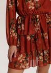 Łososiowa Sukienka Vaqirelle