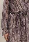 Fioletowa Sukienka Keanala