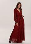 Czerwona Sukienka Miatris