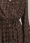 Granatowa Sukienka Vensalor