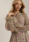 Jasnozielona Sukienka Kearieth