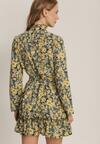 Żółta Sukienka Loragolor