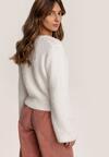 Biały Sweter Padithas