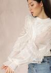 Biały Sweter Haventalon