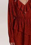 Brązowa Sukienka Bronzemourn