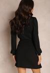 Czarna Sukienka Roseblossom