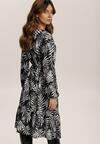 Czarno-Biała Sukienka Inoceneia