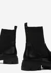 Czarne Botki Astegina