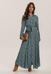 Niebieska Sukienka Theltila