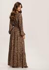 Brązowa Sukienka Jynixia