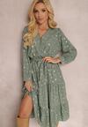 Zielona Sukienka Sundove