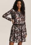 Ciemnozielona Sukienka Zapopa