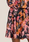 Złoto-Różowa Sukienka Zapopa