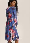 Granatowa Sukienka Inoceneia