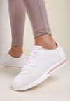 Biało-Różowe Buty Sportowe Menimoni